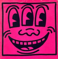 Keith Haring, 'Keith Haring Three Eyed Face 1982 (book cover)', 1982