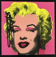 Andy Warhol, 'Marilyn (Castelli Graphics Invite)', 1981