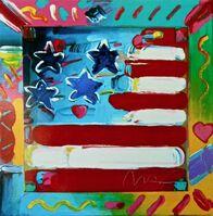 Peter Max, 'Flag (Retro Suite II)', 1994