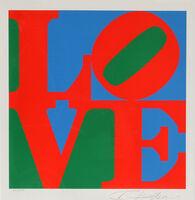 Robert Indiana, 'The American Dream: LOVE', 1996