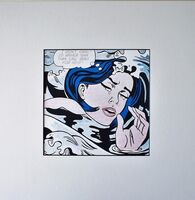 Roy Lichtenstein, 'Drowning Girl (1963) for Art Basel', 1987