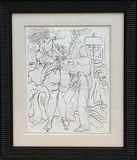 Untitled - man and Woman with Lamp (Erotic)