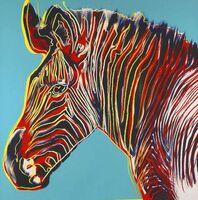 Andy Warhol, 'GREVYS ZEBRA', 1983