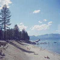 Slim Aarons, 'El Dorado Beach, Lake Tahoe', 1959