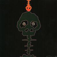 Takashi Murakami, 'Takashi Murakami Time Bokan Black and Moss Green 2006 (Takashi Murakami prints) ', 2006