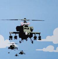 Banksy, 'Dirty Funker Flat Beat (Happy Choppers)', 2000-2010