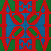 Robert Indiana, 'Love Wall', 1967