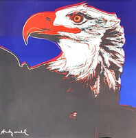 Andy Warhol, 'Bald Eagle', 1986