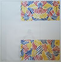 Jasper Johns, '#2 (after 'Untitled 1975')', 1976