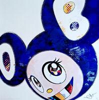 Takashi Murakami, 'And Then X 727(Ultramarine: GUNJO)-(Blue)', 2003