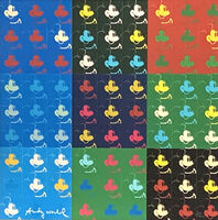 Andy Warhol, '81 x Mickey Mouse', 1986