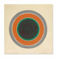 Kenneth Noland, 'A Warm Sound in a Gray Field'