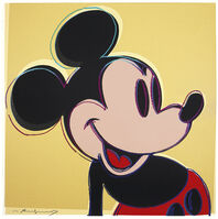 Andy Warhol, 'Mickey Mouse, from Myths', 1981