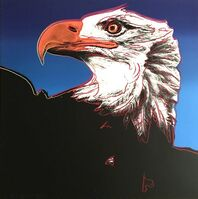 Andy Warhol, 'BALD EAGLE II.296', 1983