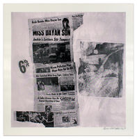 Robert Rauschenberg, 'Features from Currents #76', 1970