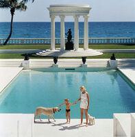 Slim Aarons, 'Nice Pool (CZ Guest)', 1955