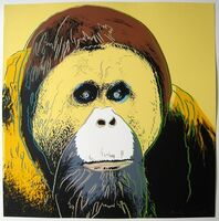 Andy Warhol, 'Orangutan, from Endangered Species', 1983