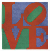 Robert Indiana, 'CLASSIC LOVE', 2007