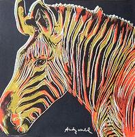 Andy Warhol, 'Grevy's Zebra', 1986