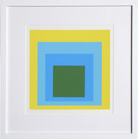 Josef Albers, 'Homage to the Square, Portfolio 1, Folder 5, Image 1', 1972