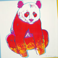 Andy Warhol, 'Giant Panda, from Endangered Species (F & S. 295)', 1983