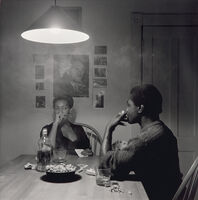 Carrie Mae Weems, 'Untitled (man smoking) from Kitchen Table Series', 1990