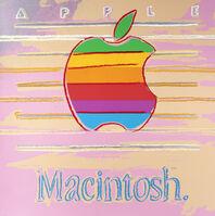Andy Warhol, 'Apple (Macintosh), from Ads Series', 1985