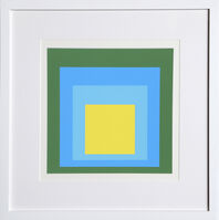 Josef Albers, 'Homage to the Square, Portfolio 1, Folder 5, Image 2', 1972