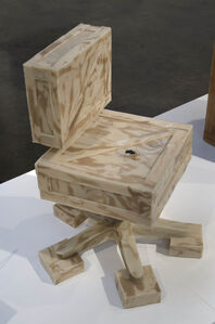 Jeanne Silverthorne, 'Crate Chair', 2014