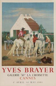 """Yves Brayer, 'Yves Brayer, Galerie """"65"""" La Croisette in Cannes, France Poster', 1961"""