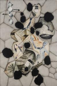 Atul Dodiya, 'Black Petals - I', 2018