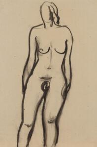 BERNARD MENINSKY, 'Standing Female Nude', N.D.