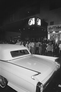 Bill Bernstein, 'Studio 54 and Cadillac', 1979