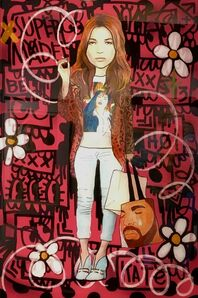 Flore x The Producer BDB, 'Kate Moss', 2017