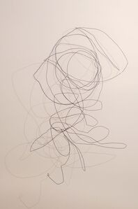 Elena Bajo, 'Wire wall skulpture (unnamed - 3)', 2011