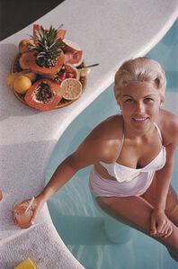 Slim Aarons, 'Coconut Fruit Cocktail', January 1961