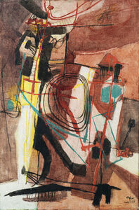 "Afro (Afro Basaldella), '""Stories of Gascogne""', 1951"