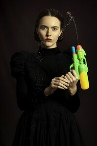 Romina Ressia, 'Woman with a Water Pistol (Series: How Would Have Been Childhood?)', 2014