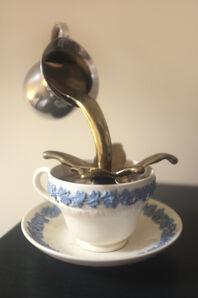 Stevie Ellis, 'Untitled (Wedgwood Cup piece)', 2010