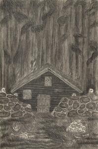Jeff Olsson, 'Skull Cabin', 2014