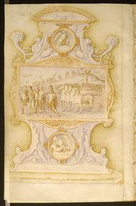 Bartolomeo Sanvito, 'The Triumph of Love ', ca. 1480