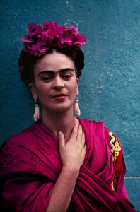 Nickolas Muray, 'Frida With Picasso Earrings', 1939