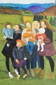 Temma Bell, 'Family Group - If Only', 2020