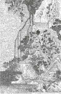 Keita Sagaki, 'The Kannon of the Kiyo Waterfall at Sakanoshita on the Tokaido Road', 2015