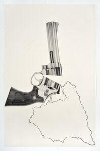Karl Haendel, 'Split Smith & Wesson Over Spain', 2018