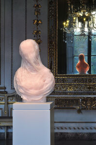 Barry X Ball, 'Purity in Iranian Translucent Pink Onyx, The New Gallery — Palazzo Mansi, Lucca', 2012-2014