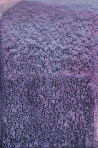 Ty Waltinger, 'Indigo-Crystals on Cobaltviolet ', 2013-2014