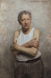 David Kassan, 'Portrait of Sam Goldofsky, Survivor of Auschwitz', 2015