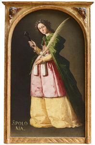 Francisco de Zurbarán, 'Santa Apolonia (Saint Apollonia)', ca. 1636-1640