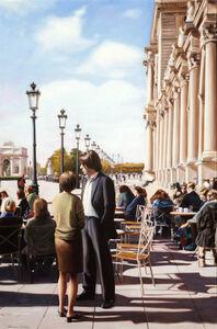 Adrian Deckbar, 'A Man in Paris', 2001
